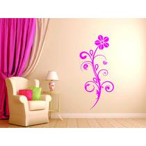 Adesivo Parede Floral Quarto Sala Decoração Blindex Box
