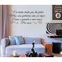 Adesivo Decorativo Como E Grande O Meu Amor (126x46)cm