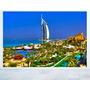 Adesivo Parede Paisagem Cidade Dubai Emirados Árabes