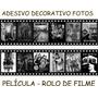 Locadora Filmes Adesivo Decorativo Película Fotos Filme Rolo