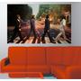 Adesivo De Parede Música The Beatles Faixa Pedestre Teclado