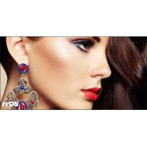 Adesivo Salão De Beleza Cabeleireira Makeup Cabelo Rr08