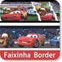 08 Metros Faixas Border Carros Decorativa Adesivo Parede