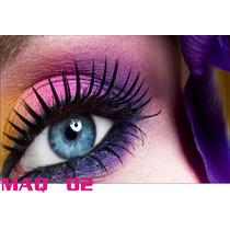 Adesivo Painel Poster Salao Maquiagem Make Up Maq02