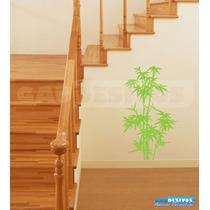 Adesivo Decorativos Bambu Floral