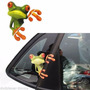 Adesivo Moto Carro Frog Sapo Verde Peep Perereca - Frete $6