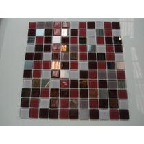 Pastilha De Vidro Cristal, Espelho E Inox