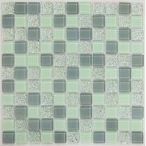 Pastilhas De Vidro Miscelânea Colortil Mix Placas 30 X30 Cm