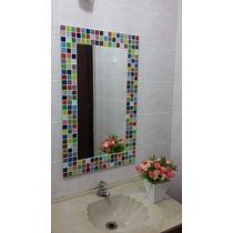 Espelho Mosaico, Pastilha De Vidro