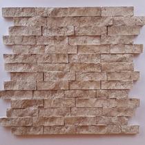 Canjiquinha De Travertino, Pastilhas De Mármore, Mosaico
