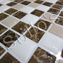 Pastilhas Adesivas Resinadas Com Relevo E Fundo Branco Placa