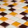 Pastilha De Vidro Cristal Miscelania Caixa Com 11 Placas