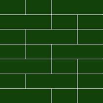 Pastilha De Parede Tijolinhos Verde (caixa Com 4 Placas)
