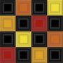 Ladrilho Cerâmico Geométrica Colorida (caixa Com 4 Placas)