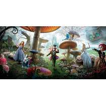 Painel Decorativo Festa Alice Pais Maravilhas [2x1m] (mod4)