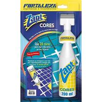 Kit Com 2 Zapt Tinta Para Rejunte Branco 200ml Promoção!