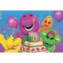 Painel Decorativo Festa Infantil Barney E Seus Amigos (mod2)