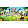 Painel Decorativo Festa Turma Do Mickey Baby [2x1m] (mod3)