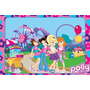 Painel Decorativo Festa Infantil Polly Pocket (mod3)
