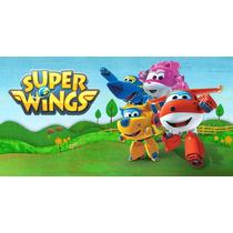 Painel Decorativo Festa Super Wings [2x1m] (mod1)