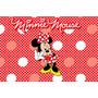 Painel Decorativo Festa Infantil Disney Minnie Mouse (mod2)