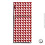 Revestimento Geladeira Vermelho Geometrico 6 10x10