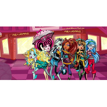 Painel Decorativo Festa Monster High [2x1m] (mod1)
