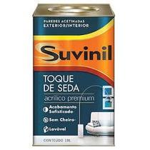 Tinta Suvinil Toque De Seda Acetinado Acrilico Premium 18 L