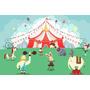 Painel Decorativo Festa Infantil Circo Palhaço (mod2)