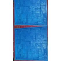 Forma De Silicone Pra Pedra São Tomé Em Gesso Modelo Mosaico