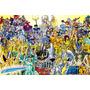 Painel Decorativo Festa Cavaleiros Do Zodíaco Cdz (mod4)