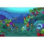 Painel Decorativo Festa Infantil Fundo Do Mar Oceano (mod3)