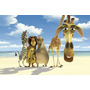 Painel Decorativo Festa Infantil Filme Madagascar (mod4)