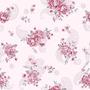 Papel De Parede Floral Com Arabesco Adesivo Fosco