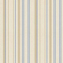Papel De Parede - Listras Azul E Bege (10 Metros X 52cm)