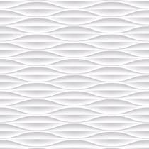 Papel De Parede Alto Adesivo Geométrico 3d, Branco Fosco