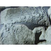 Papel De Parede 3d Pedra Lavável Pvc 10x0,53m Gramatura 260g