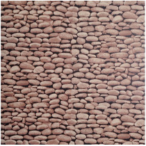 Papel De Parede Adesivo Pedra E Diversos, 5metros Por 45cm