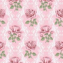 Papel De Parede Floral Rosas 14 Auto Adesivo