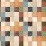 Papel De Parede Pastilhas Coloridas Com Texturas Adesivas