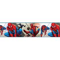 Border Disney Homem Aranha Colorido