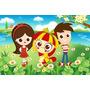 Banner Painel 200x100cm Para Decoração Festa Infantil Sitio