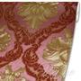 Papel De Parede Importado Lavável Damask Vermelho - 900906