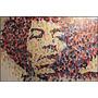 Foto Poster Grande Grafite 60cmx90cm Jimi Hendrix Decoração