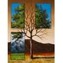 Foto Para Quadro Paisagem 90x120cm Série Árvores Surreais #3