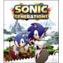 Poster Sonic Generations Foto 79x90cm Papel Decorar Parede