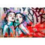 Grafiti Painel Foto 60x90cm Poster Arte Na Parede Decoração