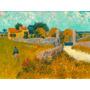 Van Gogh Foto P/ Quadro 90x120cm Casa Da Fazenda Em Provence