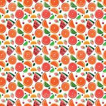 Papel De Parede Adesivo Decorativo Frutas