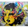 Poster Foto Grafite 80cmx90cm Papel Decoração Street Parede
